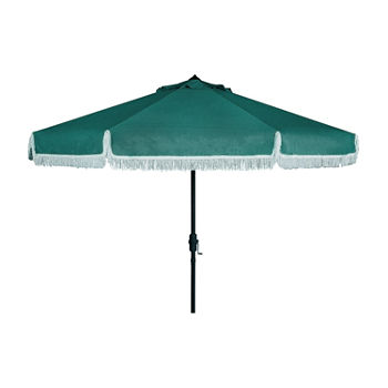 9ft. Crown Crank and Tilt Round Patio Umbrella