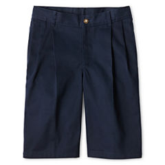 IZOD® Pleated Shorts - Boys 8-20, Slim and Husky