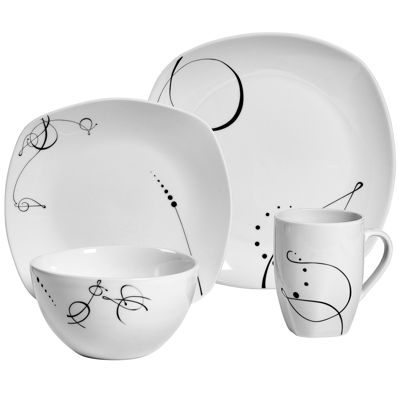 BUY MORE AND SAVE WITH CODE 16DEALS  sc 1 st  JCPenney & Dinnerware Sets Dinner Plates \u0026 Dish Sets