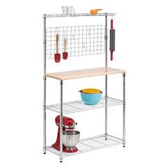 Honey-Can-Do® 2-Shelf Baker's Rack