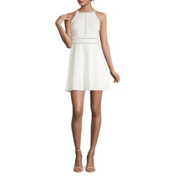 782a0d1cedd White Graduation Dresses for Women - JCPenney