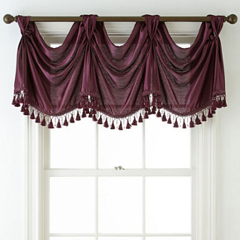 Purple Valances For Window Jcpenney