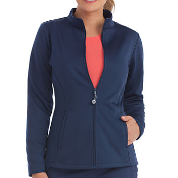 Med Couture 8648 Activate Womens Med Tech Full Zip Front Jacket-Plus