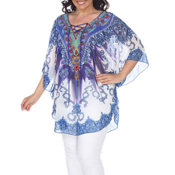 b633861150 White Mark Plus Size Tops for Women - JCPenney