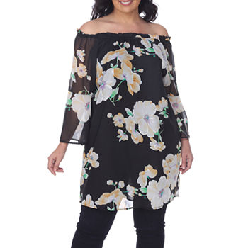 67d89c0bcc Plus Size Lined Tops for Women - JCPenney