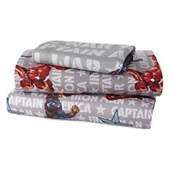 Marvel® Captain America Civil War Twin Sheet Set
