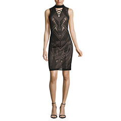 Nicole By Nicole Miller Sleeveless Bodycon Dress