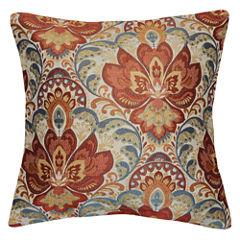 Bardane Square Throw Pillow