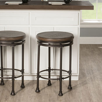 Casselberry Backless Barstool