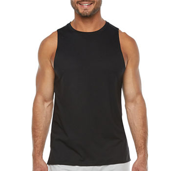Xersion Mens Crew Neck Sleeveless Tank Top