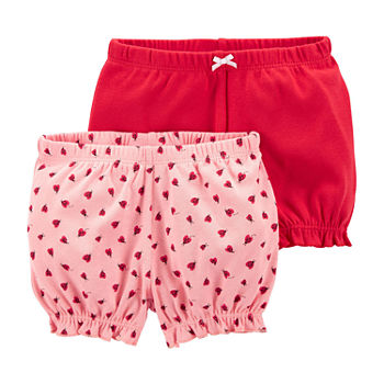 Carter's Baby Girls 2-pc. Pull-On Short