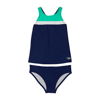 Speedo Big Girls Tankini Set