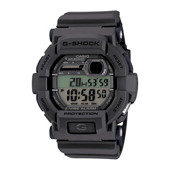 Casio G-Shock Mens Multi-Function Digital Gray Strap Watch-Gd350-8cr