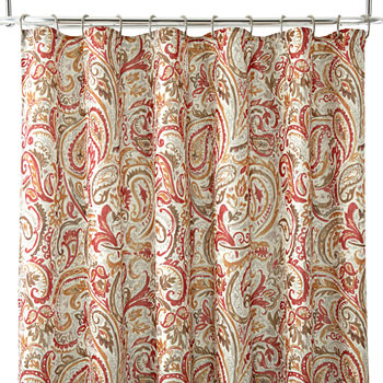 Red Shower Curtains for Bed & Bath - JCPenney