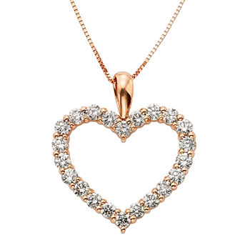 14k gold heart fine necklaces pendants for jewelry watches 14k gold heart necklaces pendants aloadofball Image collections