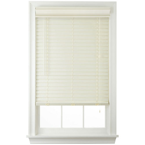 JCPenney Home™ Cut-to-Width 2 Faux-Wood Horizontal Blinds