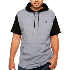Zoo York Short Sleeve Hooded Neck T-Shirt-Big and Tall