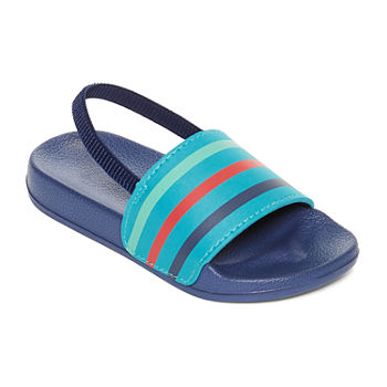 Okie Dokie Toddler Boys Slide Sandals