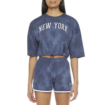 Juniors Cut & Paste New York Bungee Tee or Dolphin Short
