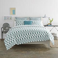 JCPenney Home™ Cotton Classics Borderline Reversible Comforter