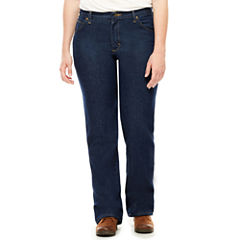 Red Kap® Womens Straight-Leg Jeans - Petite