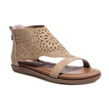dccd9845e4c Flat Sandals Women s Sandals   Flip Flops for Shoes - JCPenney