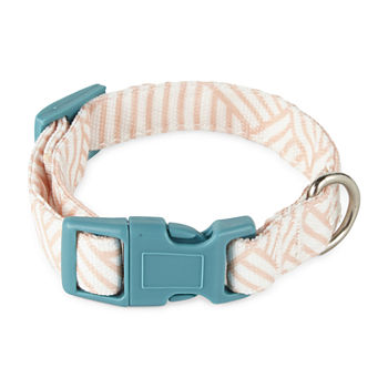 Paw And Tail Geometric Dog Collar