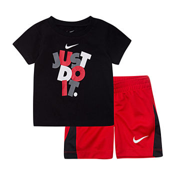 Nike Baby Boys 2-pc. Short Set