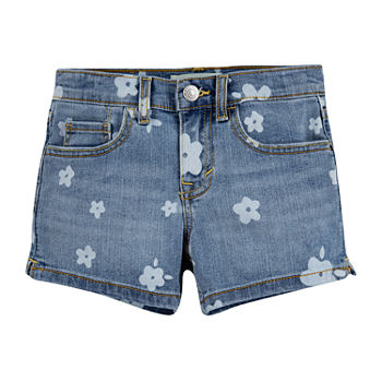 Levi's Toddler Girls Mid Rise Shortie Short