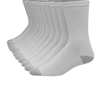 Hanes Ultimate Mens 10 Pair Crew Socks