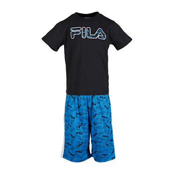 Fila Big Boys 2-pc. Short Set
