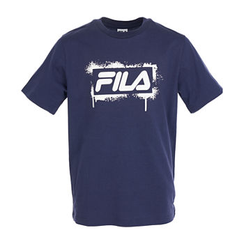Fila Big Boys 2-pc. Crew Neck Short Sleeve Graphic T-Shirt