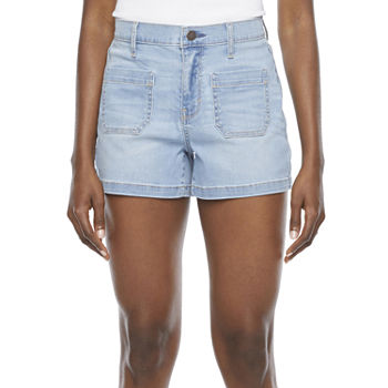 "a.n.a Womens High Rise 3 1/2"" Denim Short"