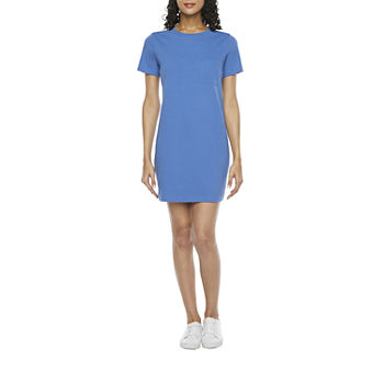 a.n.a Short Sleeve T-Shirt Dress