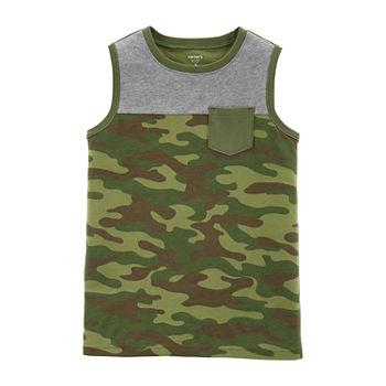 b8f5c36f369c8b Carter s Boys Crew Neck Tank Top Preschool   Big Kid