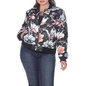 0ea2801bd2 Women Plus Size Coats   Jackets for Shops - JCPenney