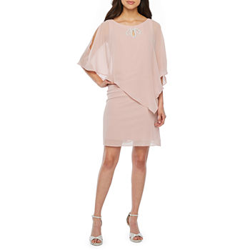 a9d60372840 Chiffon Pink Dresses for Women - JCPenney