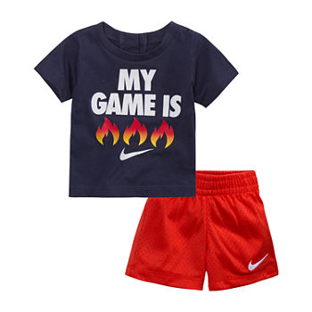 15ccf2806 Nike Red Baby Boy Clothes 0-24 Months for Baby - JCPenney
