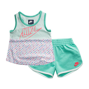 34b107405 Nike Blue Baby Girl Clothes 0-24 Months for Baby - JCPenney