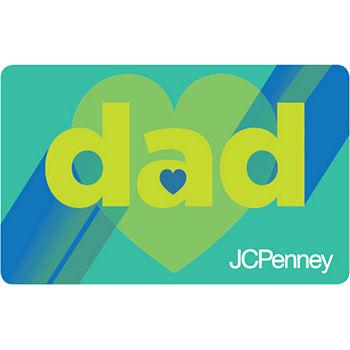 Dad Hearts Gift Card