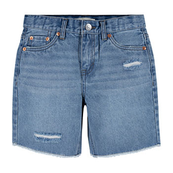 Levi's Big Girls Mid Rise Midi Short