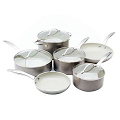 Trisha Yearwood 10-pc. Nonstick Aluminum Cookware Set
