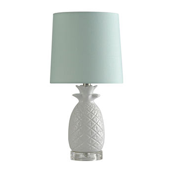 Stylecraft 9 W White Ceramic Table Lamp