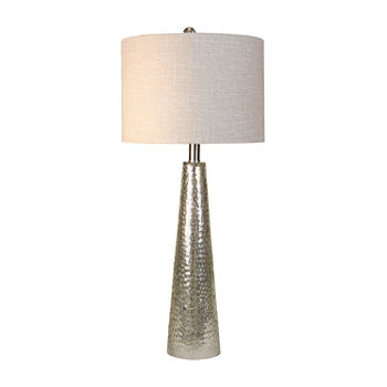 Stylecraft 12.5 W Mercury Glass Table Lamp