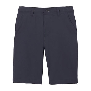 French Toast Little & Big Boys Stretch Moisture Wicking Chino Short