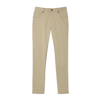 French Toast Little & Big Boys Slim Fit Flat Front Pant