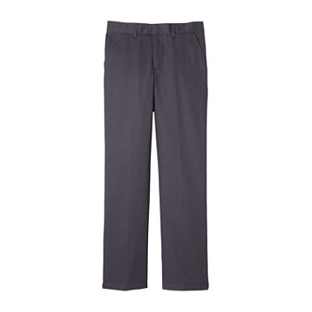 French Toast Little & Big Boys Flat Front Pant
