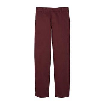 French Toast Boys Husky Flat Front Pant