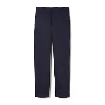 French Toast Double-Knee Big Boys Pleated Flat Front Pant
