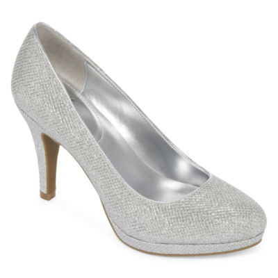 Shoes Silver Heels NKiLNGZn